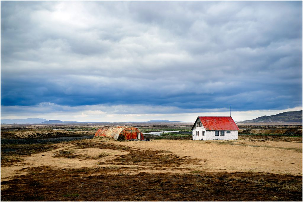 Omgeving Gullfoss (IJsland, mei 2016)
