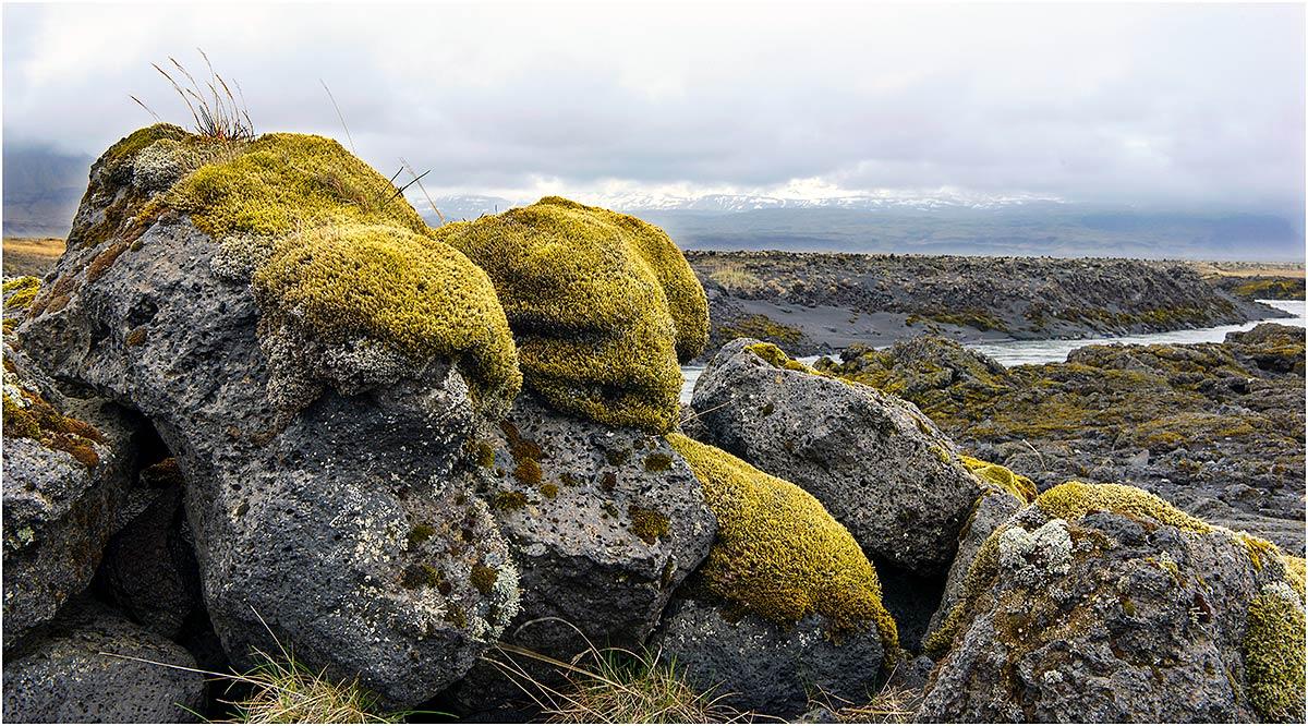 Tussen Kirkjubæjarklaustur en Jökulsárlón (IJsland, mei 2016)
