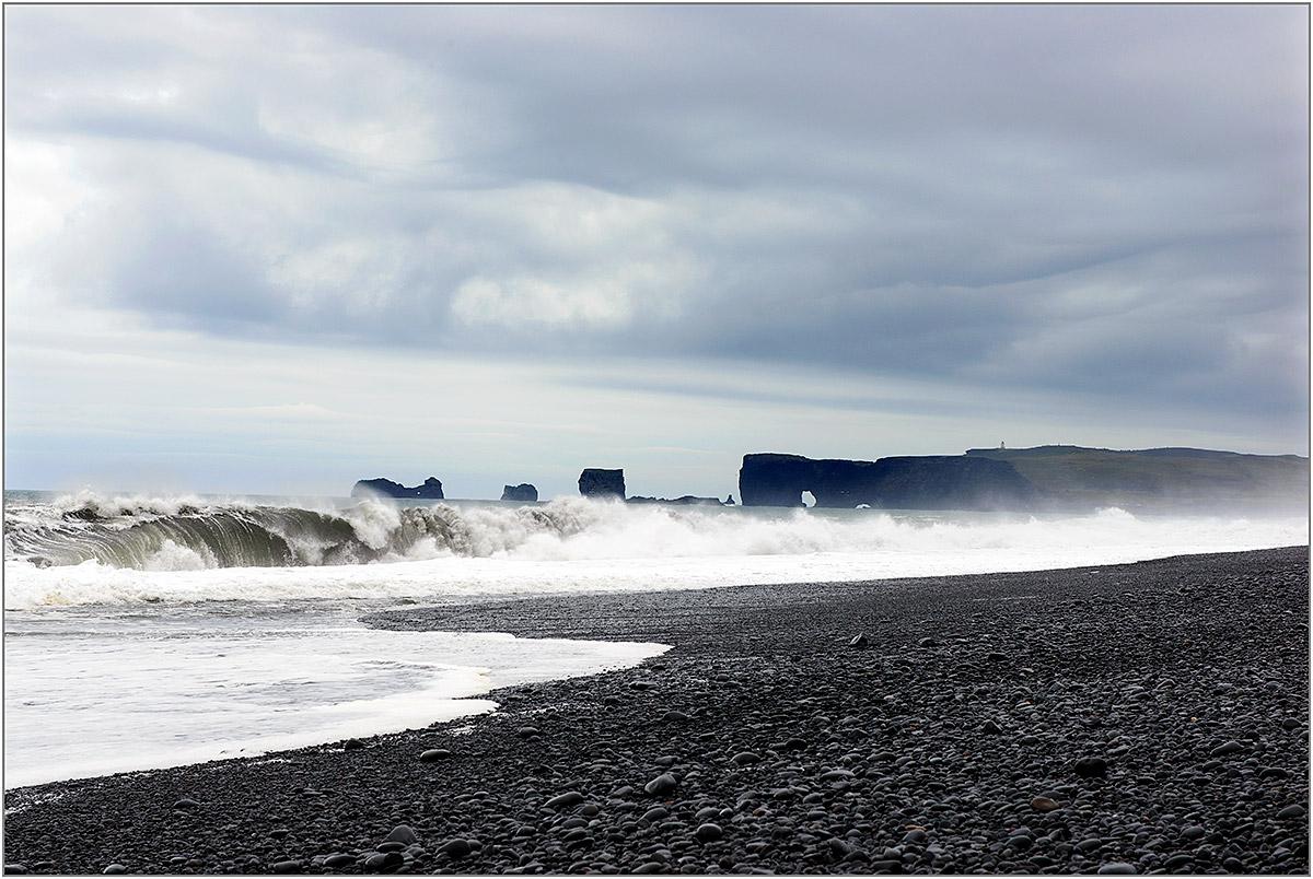 Dyrhólaey bij Vík í Mýrdal (IJsland, mei 2016)