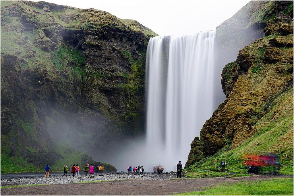 Skógafoss (IJsland, mei 2016)