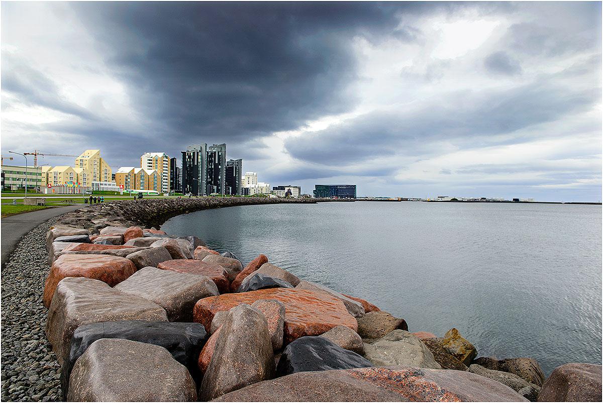 Reykjavik (IJsland, mei 2016)
