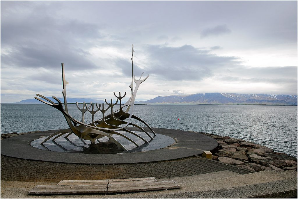 Sólfarið - Sun Voyager, Reykjavik (IJsland, mei 2016)
