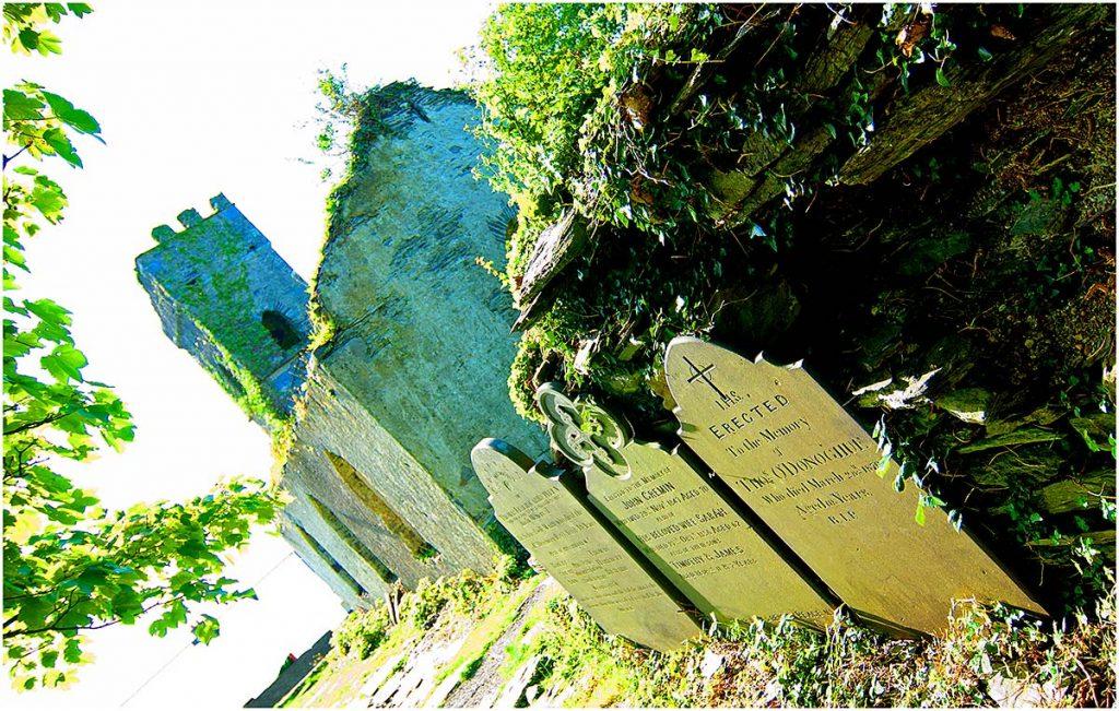 Cahersiveen (schiereiland Iveragh), County Kerry (Ierland, sep.2012)