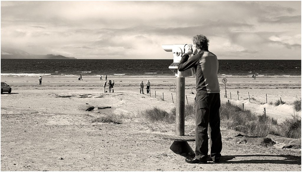 Inch Beach (schiereiland Dingle), County Kerry (Ierland, sep.2012)