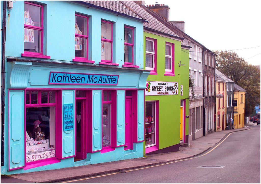 Dingle (schiereiland Dingle), County Kerry (Ierland, sep.2012)