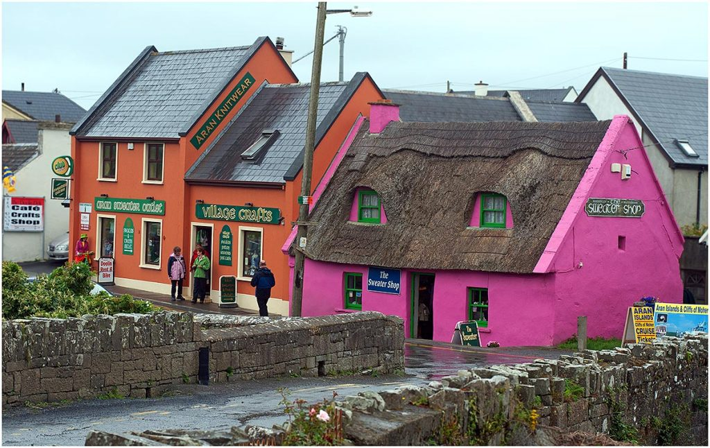 Doolin, County Clare (Ierland, sep.2012)
