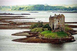Castle Stalker, Portnacroish (Schotland, sep.2013)