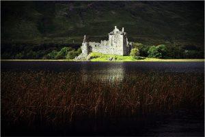 Kilchurn Castle, Loch Awe (Schotland, sep.2013)