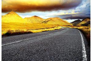 Cuillin Hills. Isle of Skye (Schotland, sep.2013)