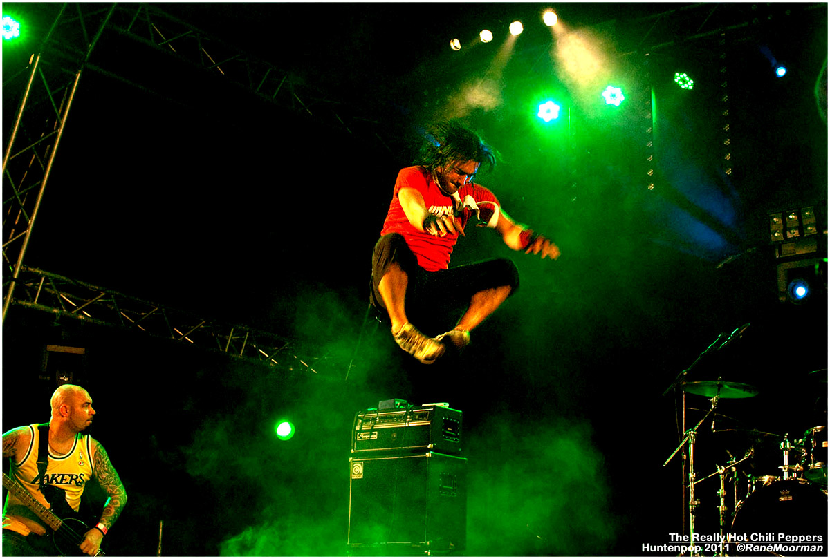 The Realy Hot Chili Peppers, Huntenpop 2011