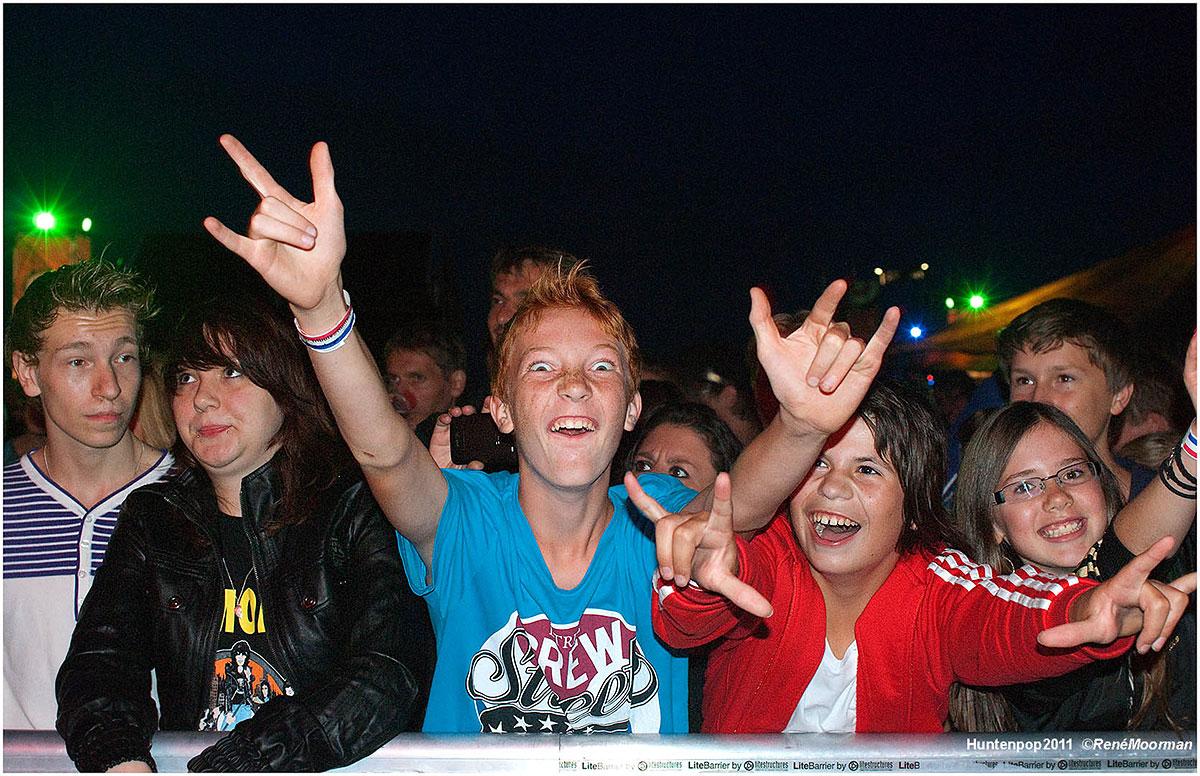 Publiek, Huntenpop 2011