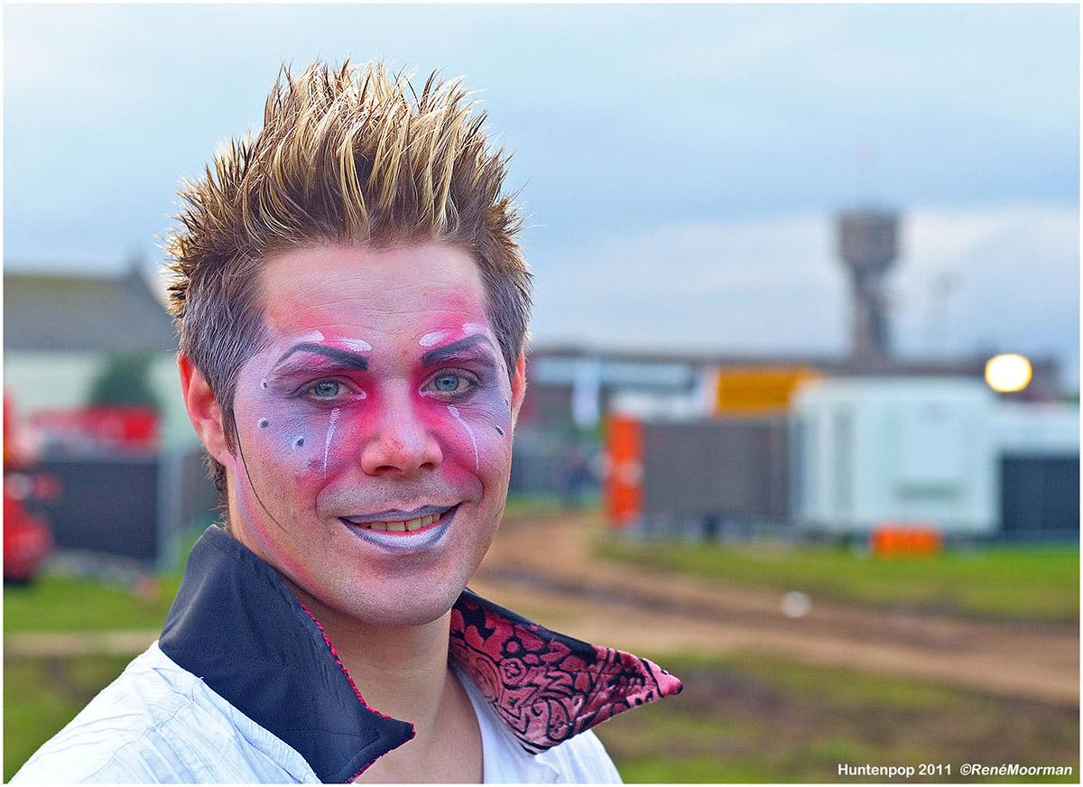 Backstage, Huntenpop 2011