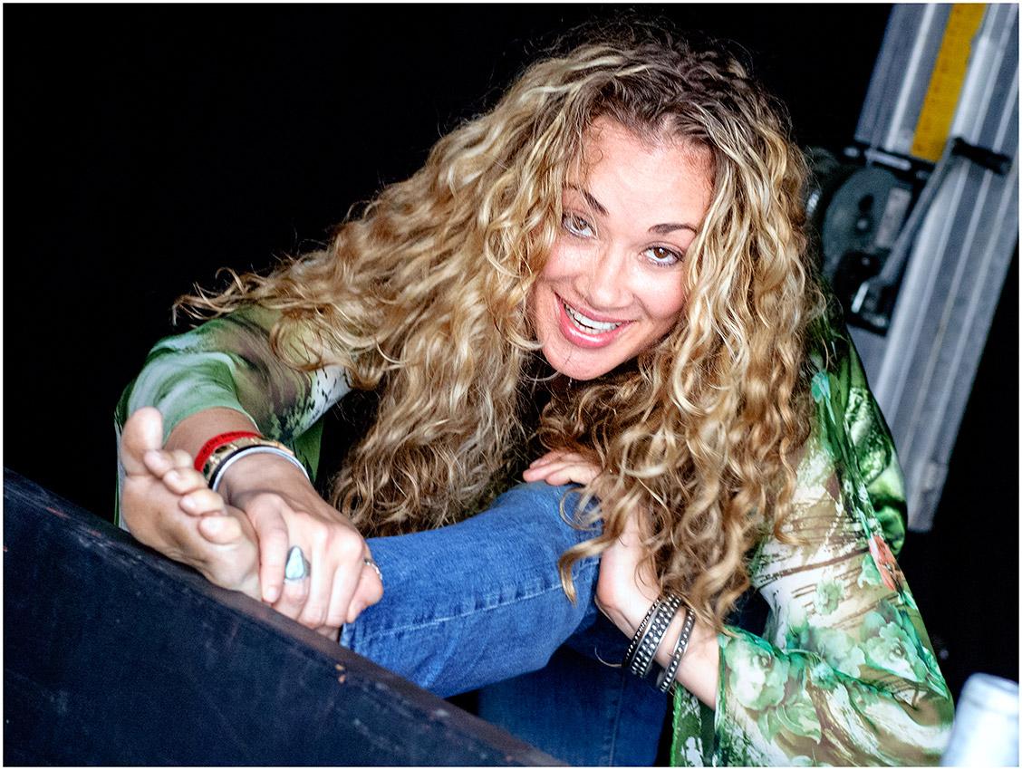 Dana Fuchs, Backstage Huntenpop 2010