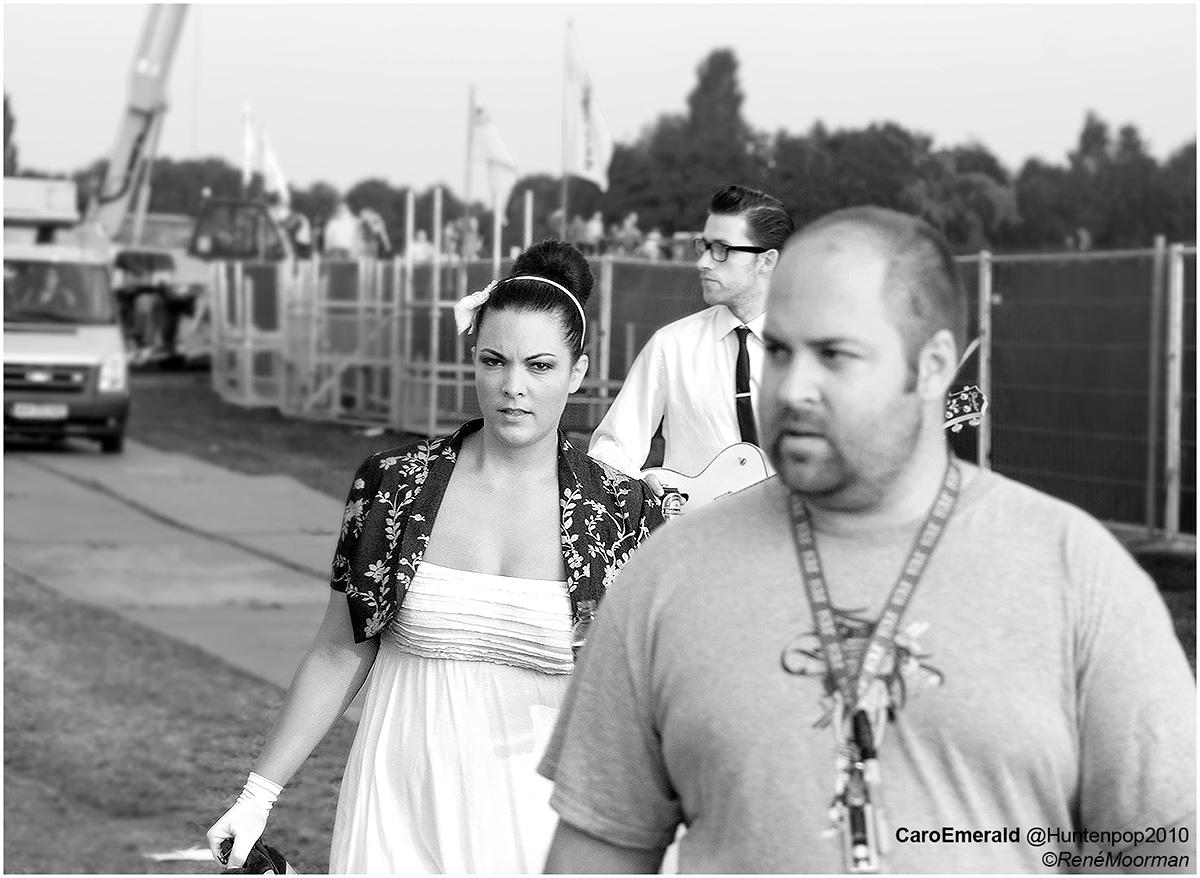 Caro Emerald, Backstage Huntenpop 2010