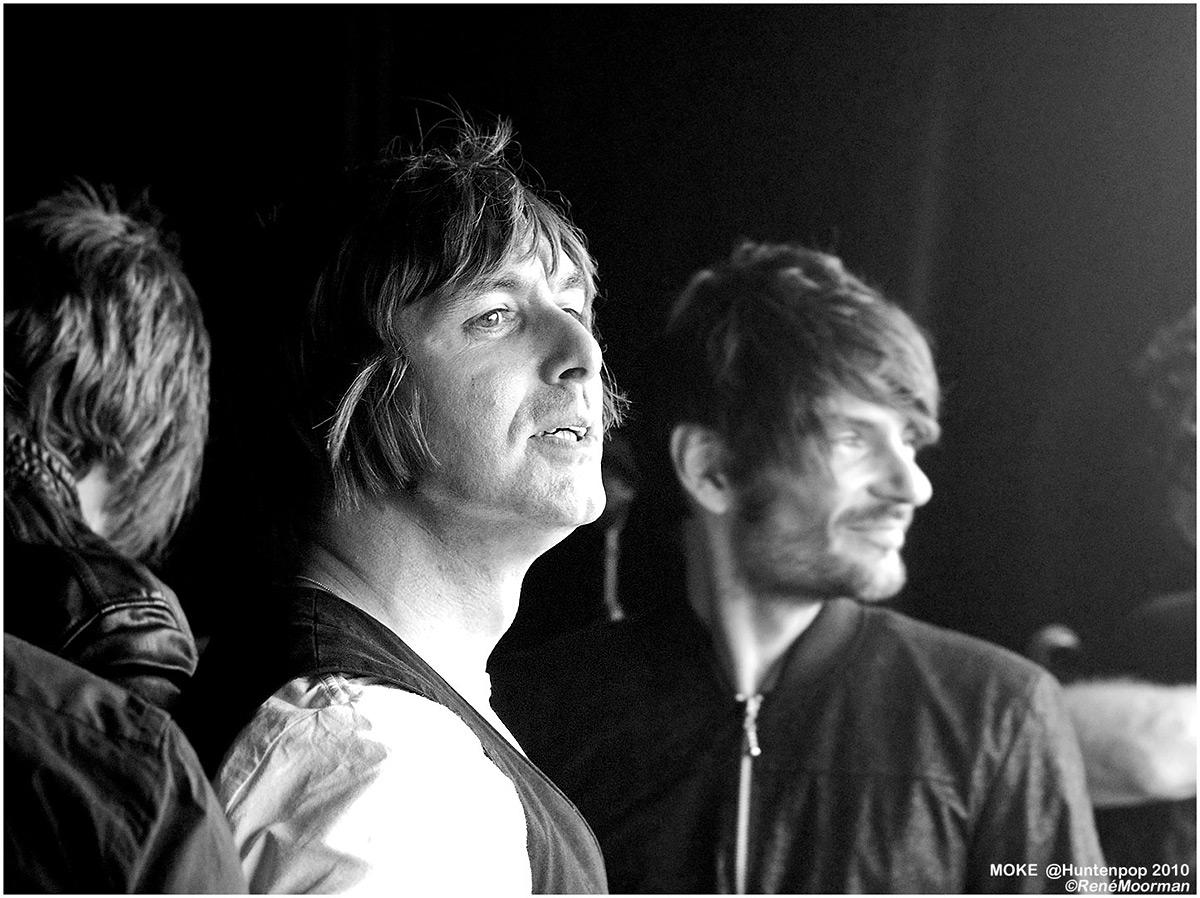 Moke, Backstage Huntenpop 2010