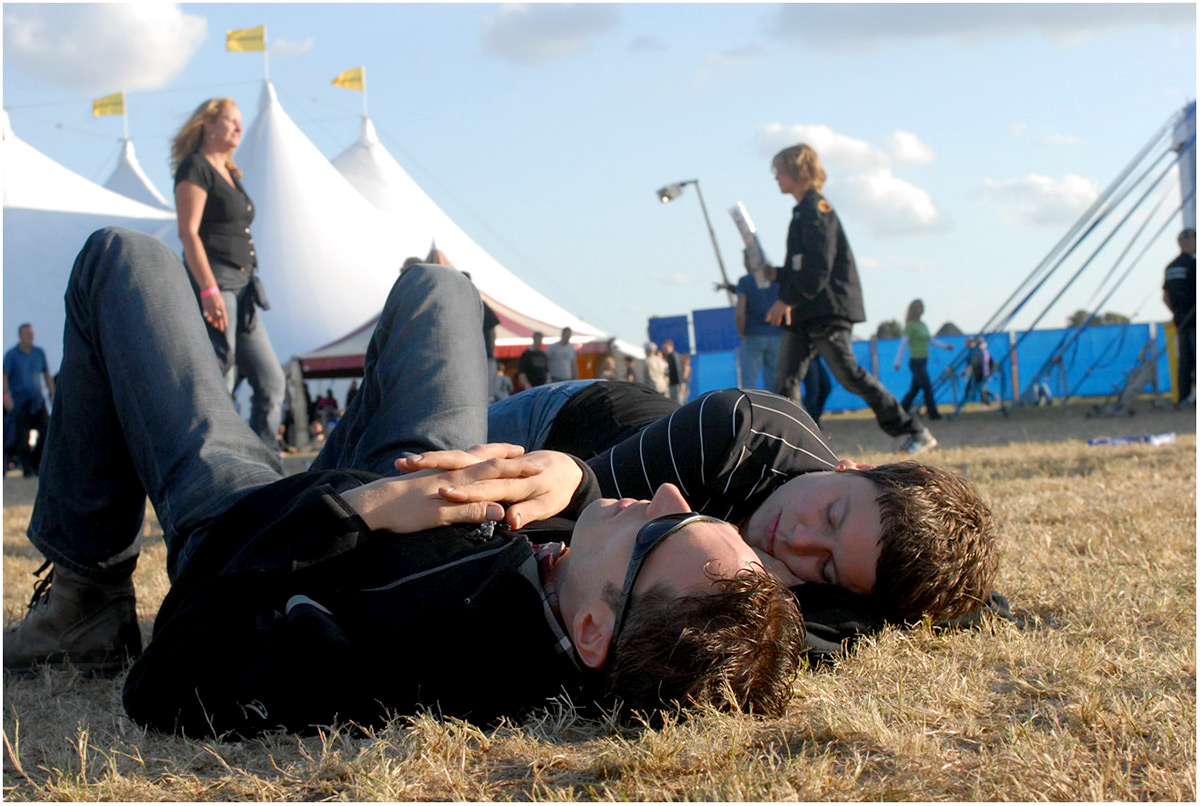 Festivalterrein, Huntenpop 2009