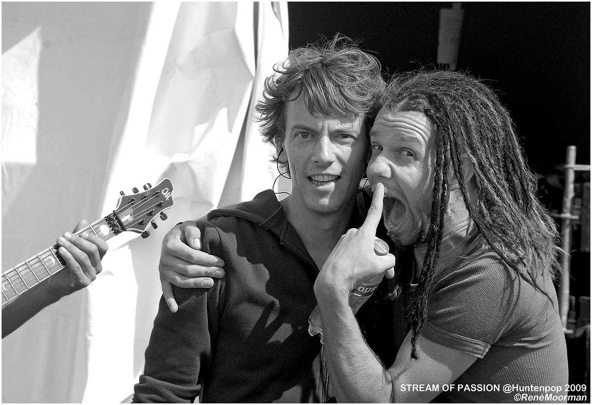Stream Of Passion, Backstage Huntenpop 2009