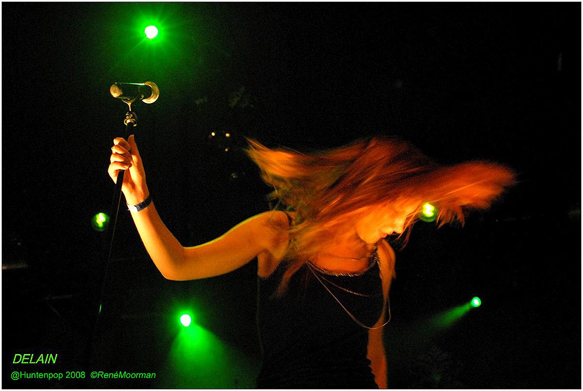 Delain, Huntenpop 2008