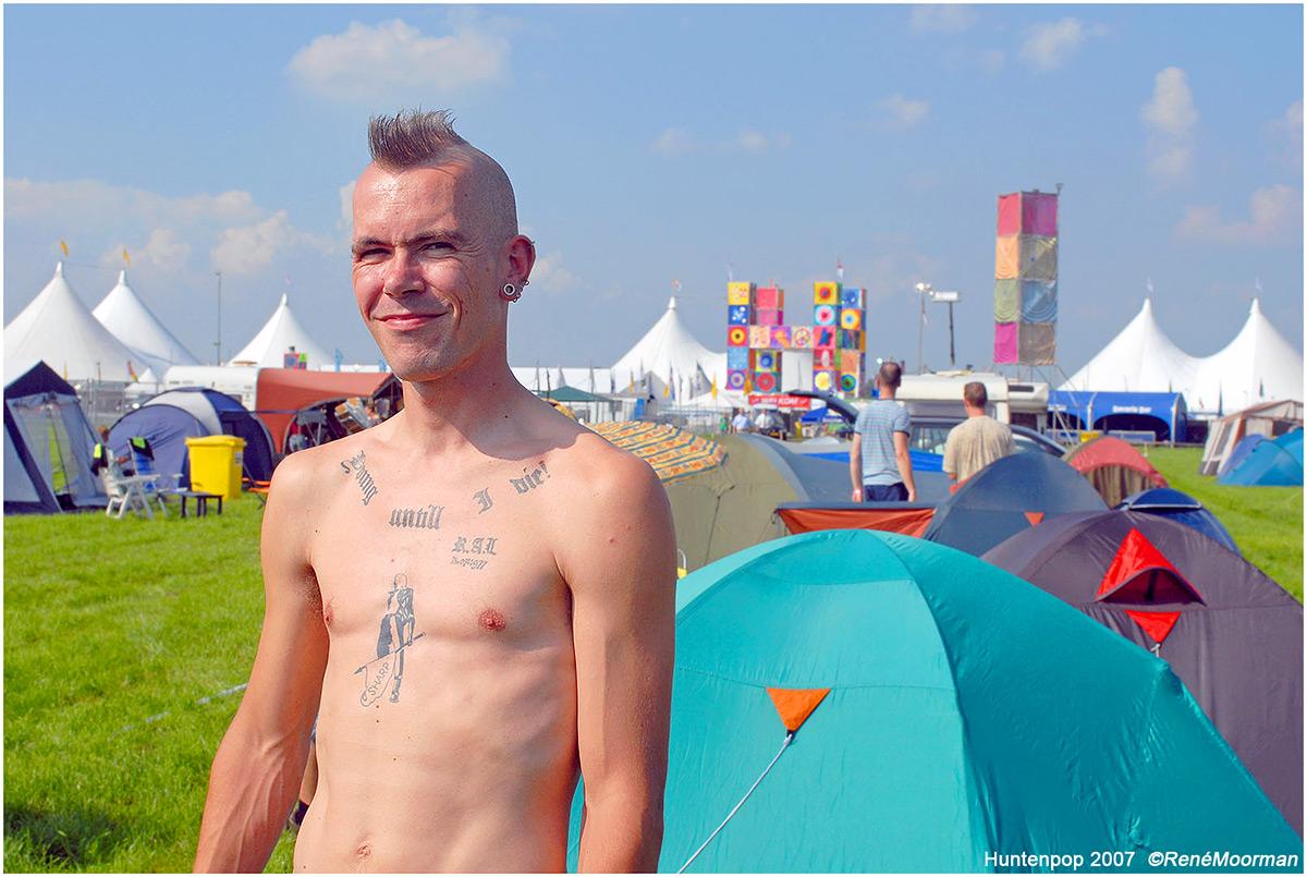 Camping, Huntenpop 2007