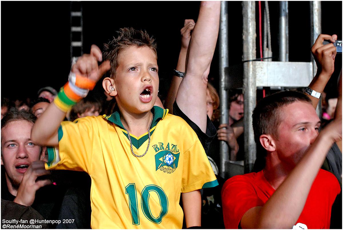 Jonge Soulfly-fan, Huntenpop 2007