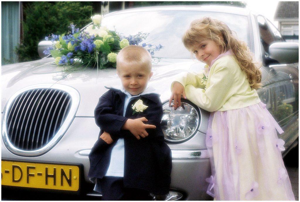 Alex & Joyce (mei 2001) (orig. analoog uit bruidsreportage)