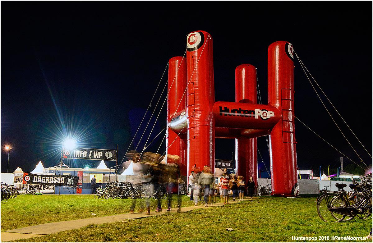 Festivalterrein, Huntenpop zaterdagavond 13-08-2016