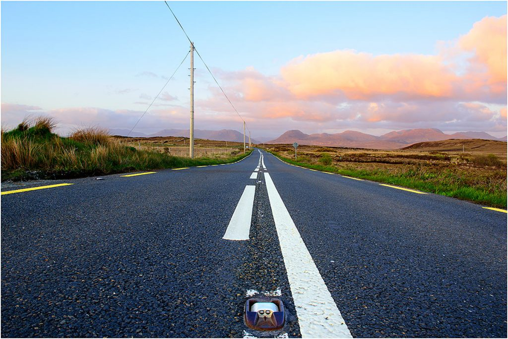 Road N59 Clifden-Letterfrack, Connemara, County Galway