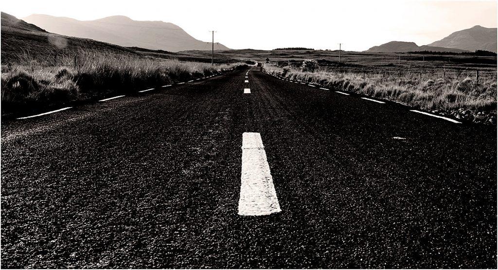 Road R344 Connemara, County Galway