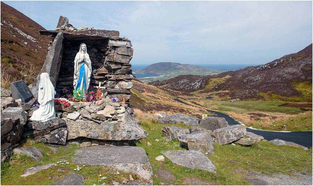 Top of Mamore Gap, Inishowen, County Donegal