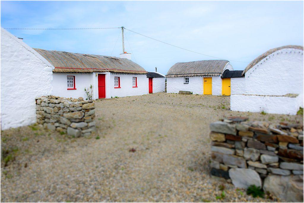 Irish Cottage, Claggan, Inishowen, County Donegal