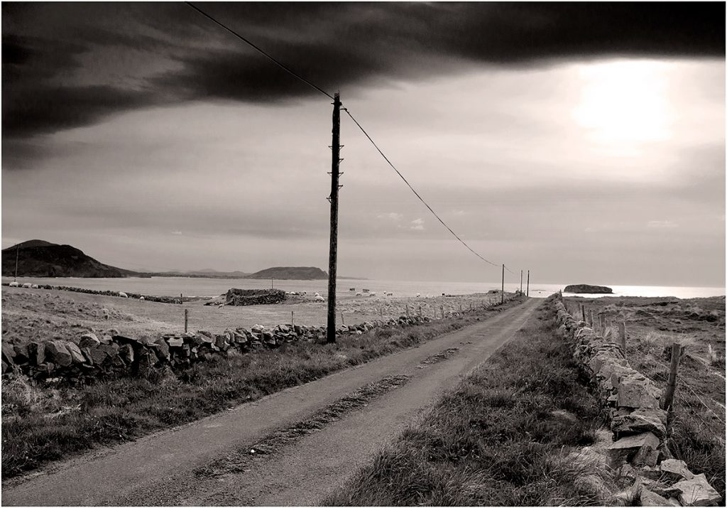 to Carrickabraghy Castle, Inishowen, County Donegal