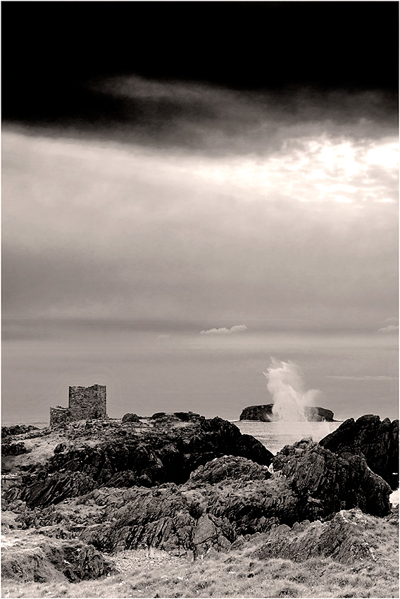 Carrickabraghy Castle, Inishowen, County Donegal