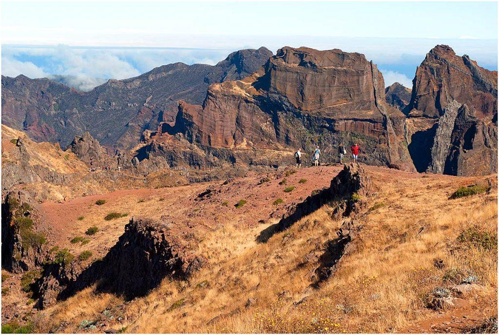 Pico Ruivo (1862 m), Madeira (sept. 2011)