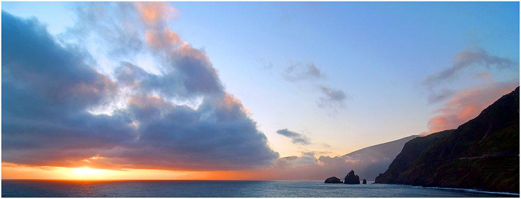 Noordkust vanaf Porto Moniz, Madeira (sept. 2011)