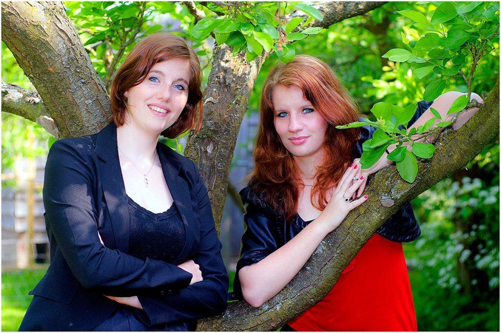 Manon & Stefanie (mei 2011)