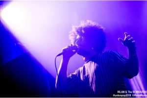 Rilan & The Bombardiers, Huntenpop zaterdagavond 11-08-2018