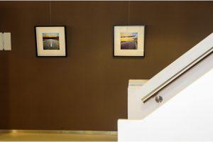 Politiebureau Doetinchem, gang 1e etage/trappen (foto's Schotland)