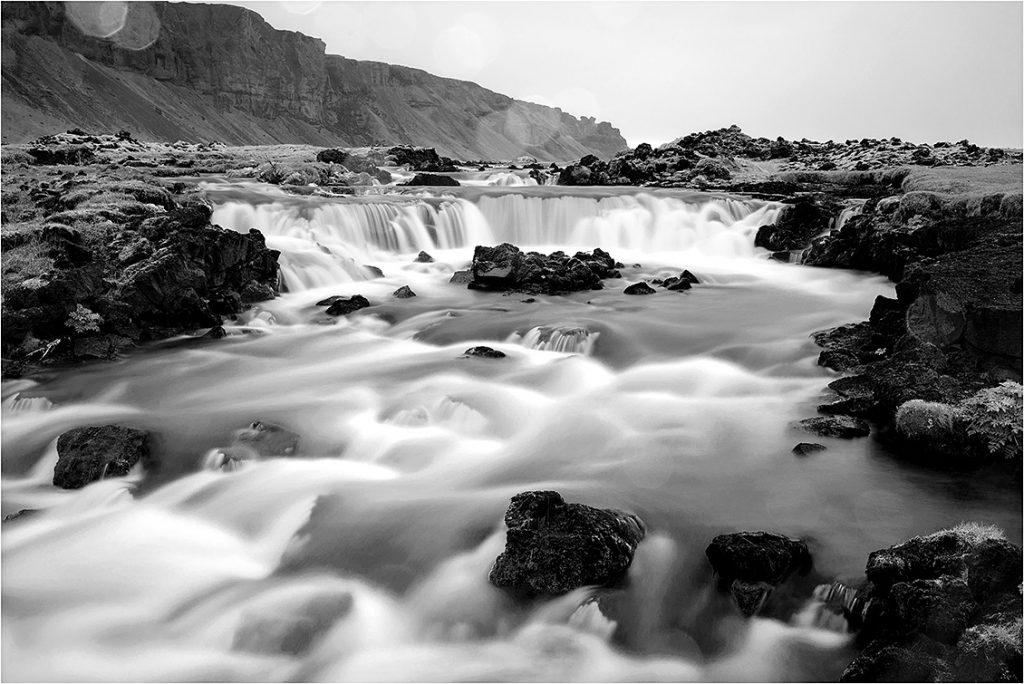 IJsland, omgeving Kirkjubærklaustur (mei 2016)