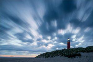 Texel, voor zonsopkomst bij de vuurtoren [TX0_0253www]
