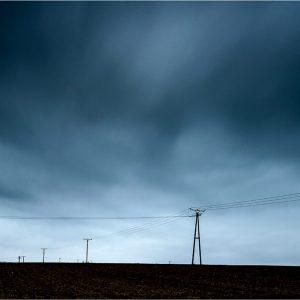 """""""Dunkle Wolken"""" bij Uedem (D)"""